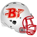 Bellefonte Football Helmet