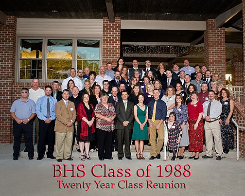 Class Reunion Group Picture