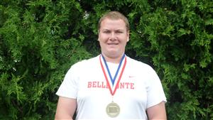 Mitch - District VI Champion Shot Putt